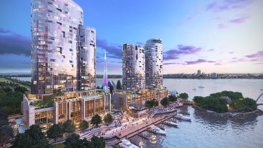 Apartment design in Perth has come a long way since the 1960s, as this artist's impression of new hotel and apartment buildings at Elizabeth Quay illustrate. The new strata laws can help close the gap between the old and the new.