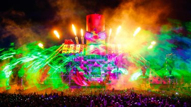 Two young people died at the Defqon.1 music festival at Penrith.