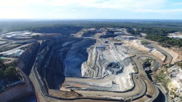 The Greenbushes hard-rock lithium mine will feed the Kemerton plant.