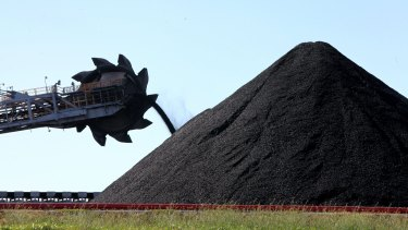 "Thermal coal companies would have a ""significantly lower negative score""."
