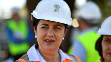 "Queensland Premier Annastacia Palaszczuk said she wanted a ""definite time frame"" on the Adani project by Friday."