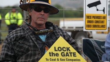 AGL faced several protests in 2014-15 over its then plans to extract coal seam gas near Gloucester.