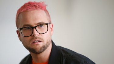 Whistleblower Christopher Wylie who revealed last year that data firm Cambridge Analytica harvested personal data of millions of Facebook users without their consent.