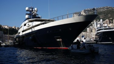 Jho Low's luxury superyacht Equanimity.