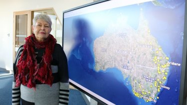 Professor Lyndall Ryan has researched the history of massacres of Indigenous people in Australia.