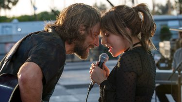 A scene from A Star is Born.