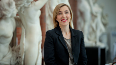 Bendigo Art Gallery director Jessica Bridgfoot says a gallery's success 'liesin what is your niche and ... what are the possibilities'.