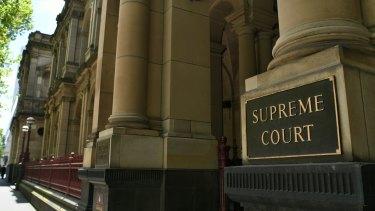 The Supreme Court in Melbourne.