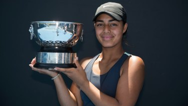 Canberra teenager Annerly Poulos has been nominated for the female junior athlete of the year.