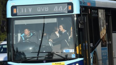 Sydney's bus services are predicted to become more crowded.