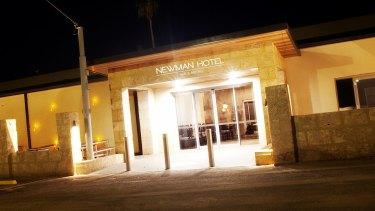 Newman Hotel in WA's Pilbara.
