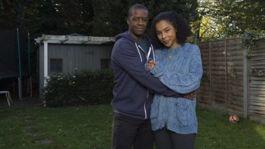 Adrian Lester and Sophie Okonedo in Undercover.