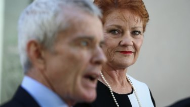 The latest election count has confirmed earlier signs that the Senate crossbench will include Pauline Hanson and her One Nation colleague Malcolm Roberts.