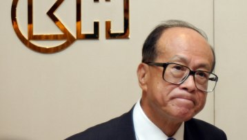 Hong Kong tycoon and CK founder Li Ka-shing.