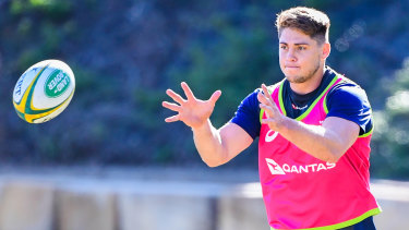 James O'Connor is back training witht he Wallabies, but Australin rugby owes him nothing.