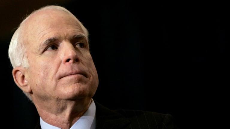 Republican Senator John McCain.