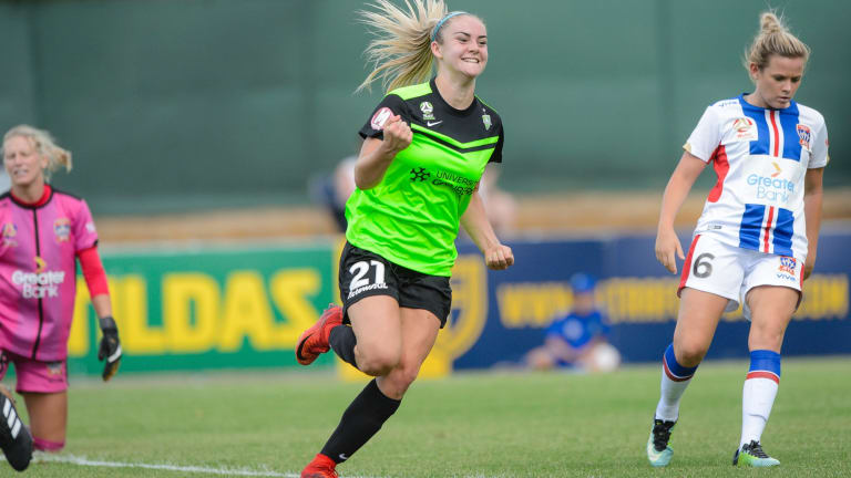 Canberra United is hopeful Ellie Carpenter will return to the capital.