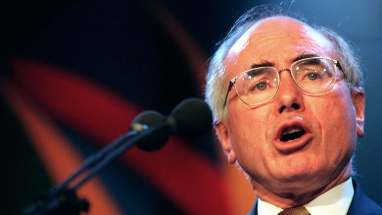 Packer used his TV network to say he thought John Howard would make a good PM.
