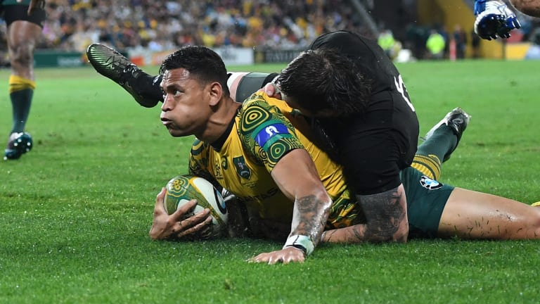 No room for complacency: The Wallabies outscored the All Blacks by 80-67 across five halves of rugby last year.