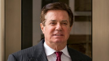 Paul Manafort, President Donald Trump's former campaign chairman.