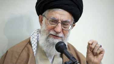 Iranian supreme leader Supreme Leader Ayatollah Ali Khamenei.