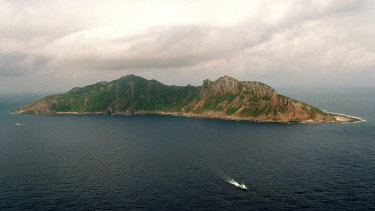 This 1996 photo shows Uotsuri Island, an island claimed by both China and Japan.