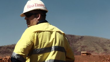 Surging iron ore prices fully mask Rio Tinto's Pilbara production woes.