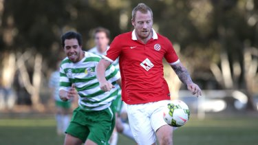Canberra FC's Ian Graham