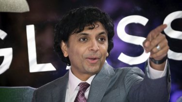 M. Night Shyamalan has an Apple project in the works.