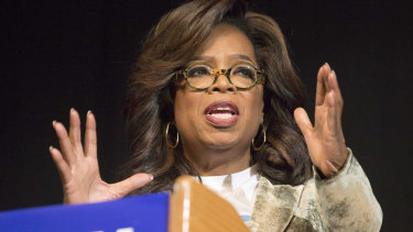"""Forbes referenced a scoring system it developed in 2014 that is intended to clarify """"how self-made"""" a person is. Oprah Winfrey is classified as a 7."""