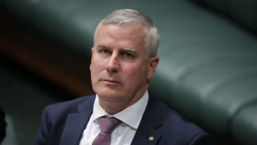 Federal Nationals leader and Deputy Prime Minister Michael McCormack.