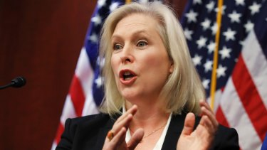 New York senator and Democratic presidential candidate Kirsten Gillibrand has highlighted her role in the #MeToo movement.
