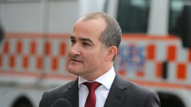 Deputy Premier James  Merlino said he had referred 18 members and former members of Parliament to police.