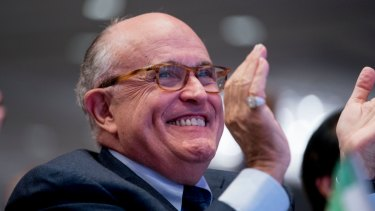 Rudy Giuliani, an attorney for President Donald Trump.