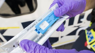 The Securetec DrugWipe: New research has cast doubt on the accuracy of mobile drug testing devices.