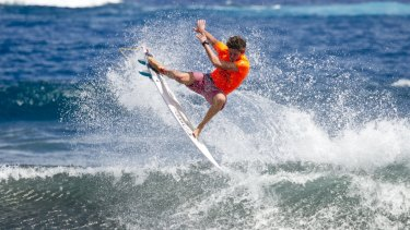 'Since I lost my sponsor I've been able to flip my life around'. Cooper Chapman in 2015.