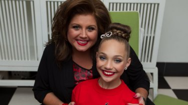 Dance Moms' star Abby Lee Miller and one child who has made a hit career from performing arts, Maddie Ziegle.