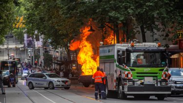 The Bourke Street carnage
