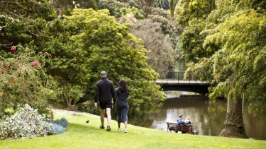 The Royal Botanic Gardens.