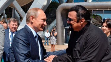 Pal of Russian President Vladimir Putin, actor Steven Seagal is coming here.