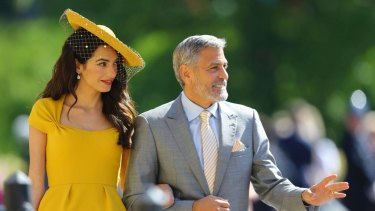 Amal Clooney and George Clooney will be back for another royal wedding.