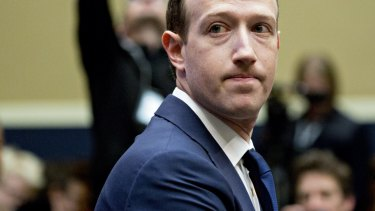 Mark Zuckerberg, chief executive officer and founder of Facebook, holds too much power, Facebook co-founder Chris Hughes said.