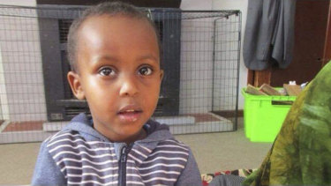 Three-year-old Mucaad Ibrahim was killed in the Christchurch massacre.