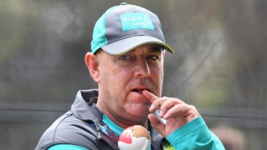 Hot seat: Darren Lehmann is returning to the coaching ranks.