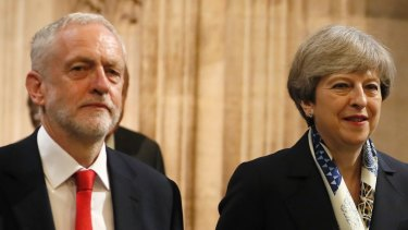 Prime Minister Theresa May and Opposition Leader Jeremy Corbyn have failed to reach an agreement.