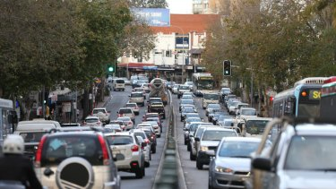 Sydney and Melbourne will soon be crippled by congestion, according to Infrastructure Australia.