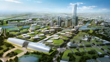 Australian Education City has released this image it envisages for Werribee.