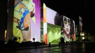 The National Gallery of Australia lights up for  Enlighten.