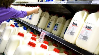 The industry has called for a 10c a litre milk levy to help support farmers.
