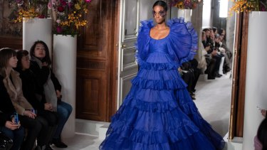 Valentino's Haute Couture collections have allowed its atelier of craftspeople to shine.